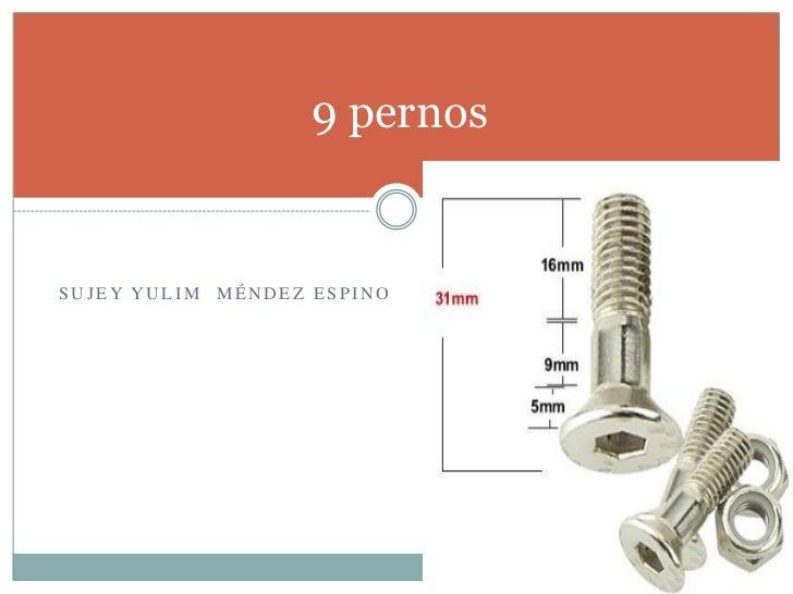 9 pernosSUJEY YULIM MÉNDEZ ESPINO