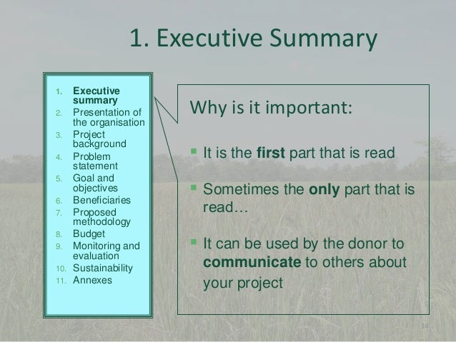 How To Write Your Dissertation Executive Summary