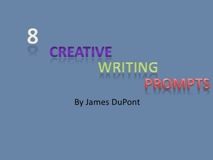 8 Writing Prompts