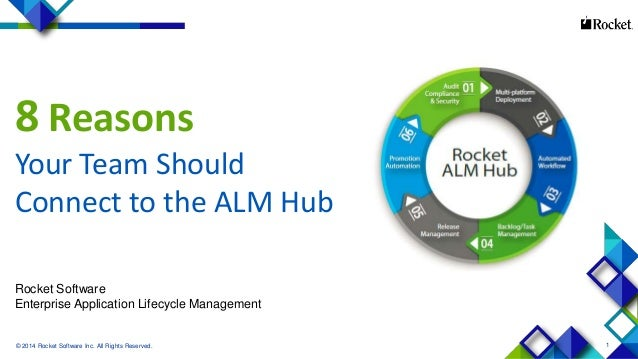 8 Reasons Your Team Should Connect to the Rocket ALM Hub