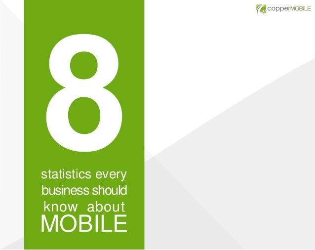 statistics every business should  know about  MOBILE