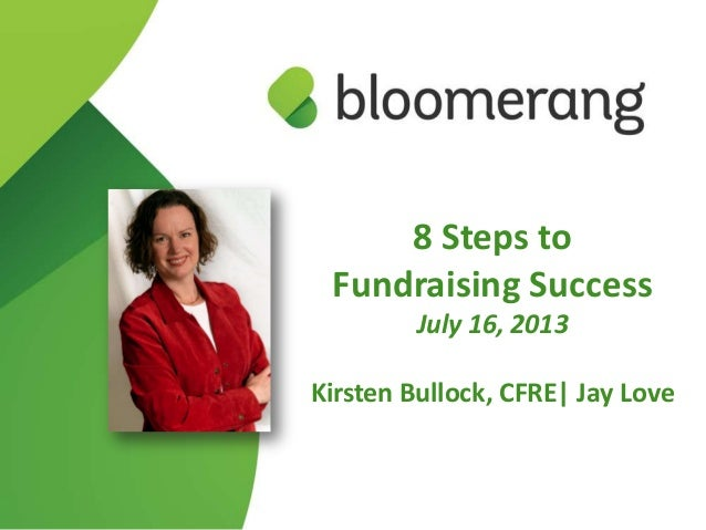 8 Steps to Fundraising Success