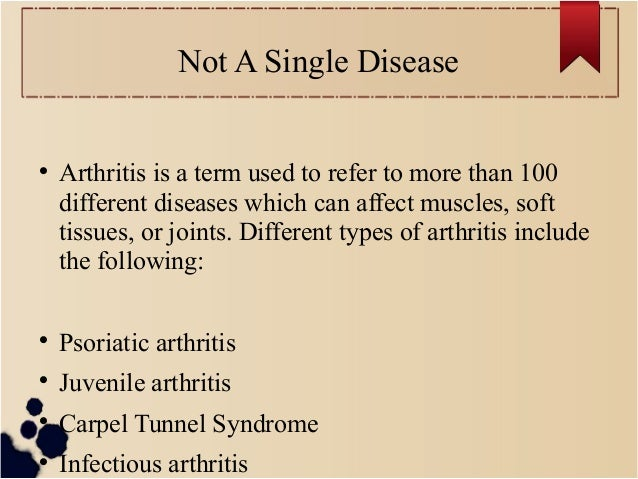 8 surprising facts about arthritis most people don't know