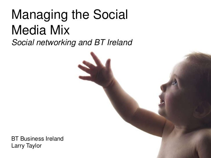 Dublin Web Summit - Social Marketing