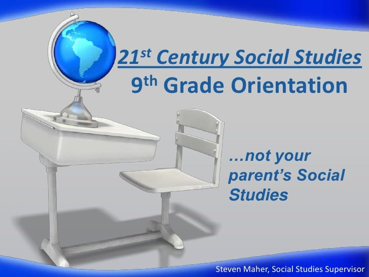 8th grade curriculum orientation for wed feb 9
