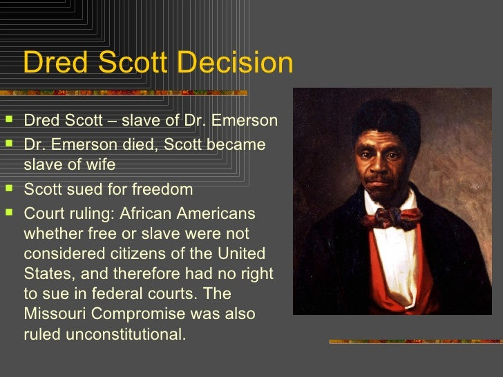 Image result for dred scott