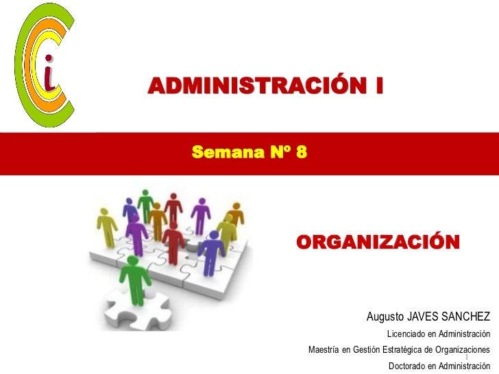 8va sem organización