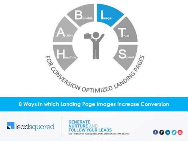 8 ways in which Landing Page Images increase conversion