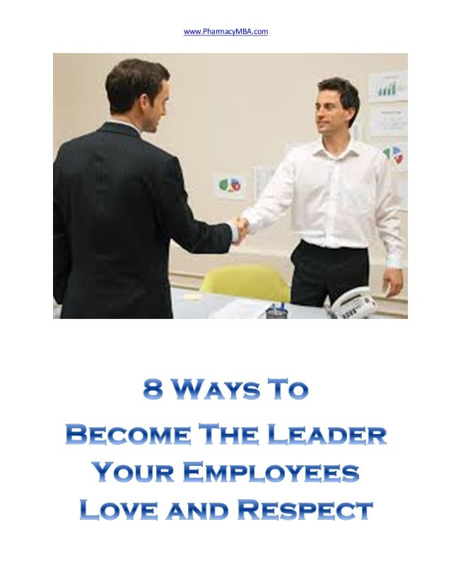 how to become a respected and