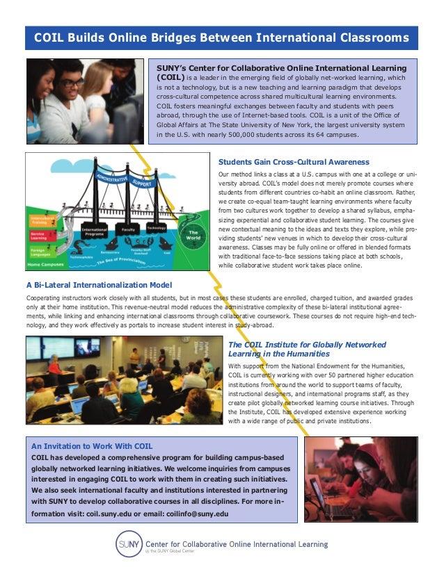 COIL Builds Online Bridges Between International Classrooms                                              SUNY's Center for...