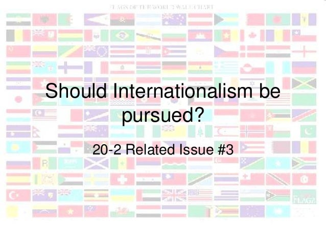 intro to internationalism