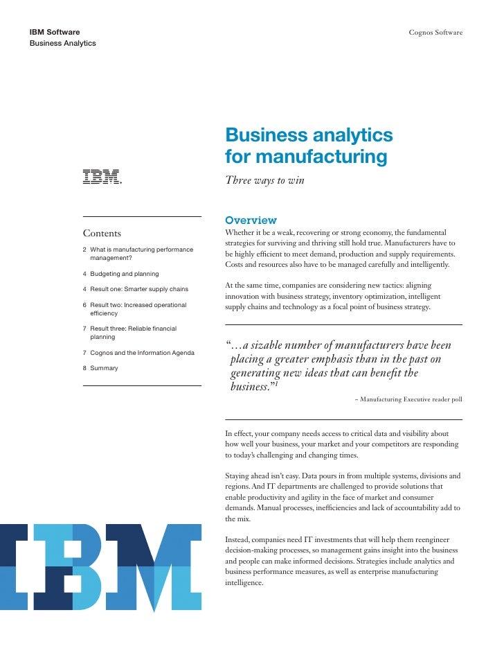 IBM Software                                                                                                    Cognos Sof...