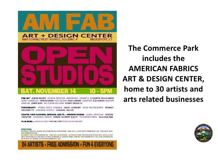 American Fabrics Arts Building />american Fabrics Art