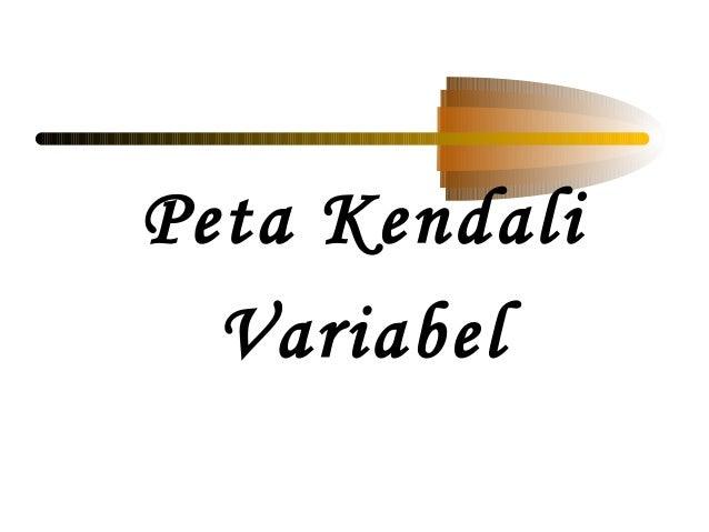 Peta KendaliVariabel