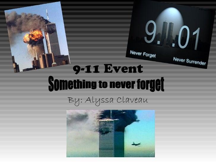 9 11 event,alyssaclaveau2