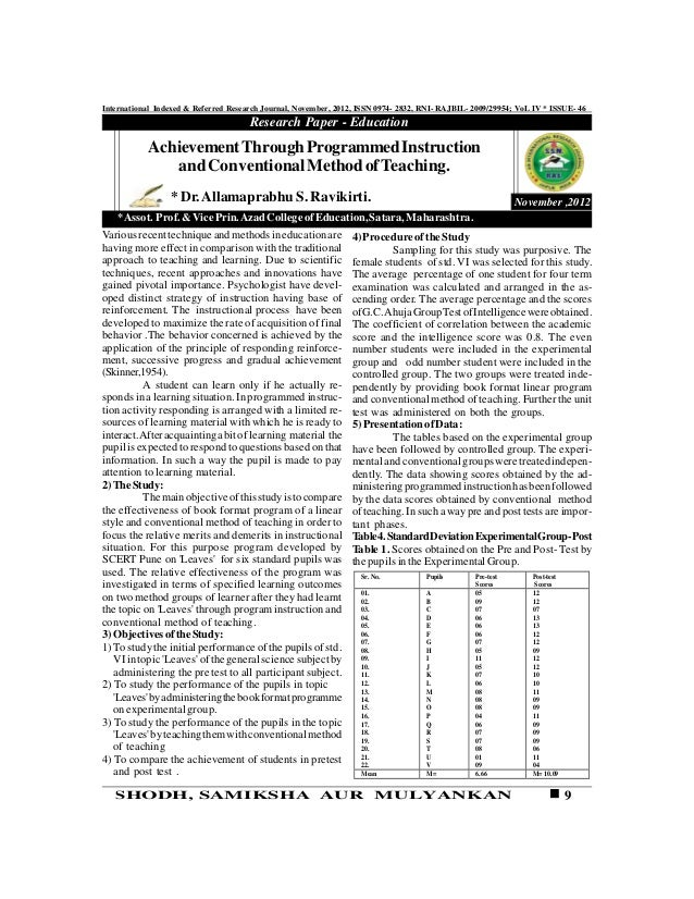 International Indexed & Referred Research Journal, November, 2012, ISSN 0974- 2832, RNI- RAJBIL- 2009/29954; VoL IV * ISSU...