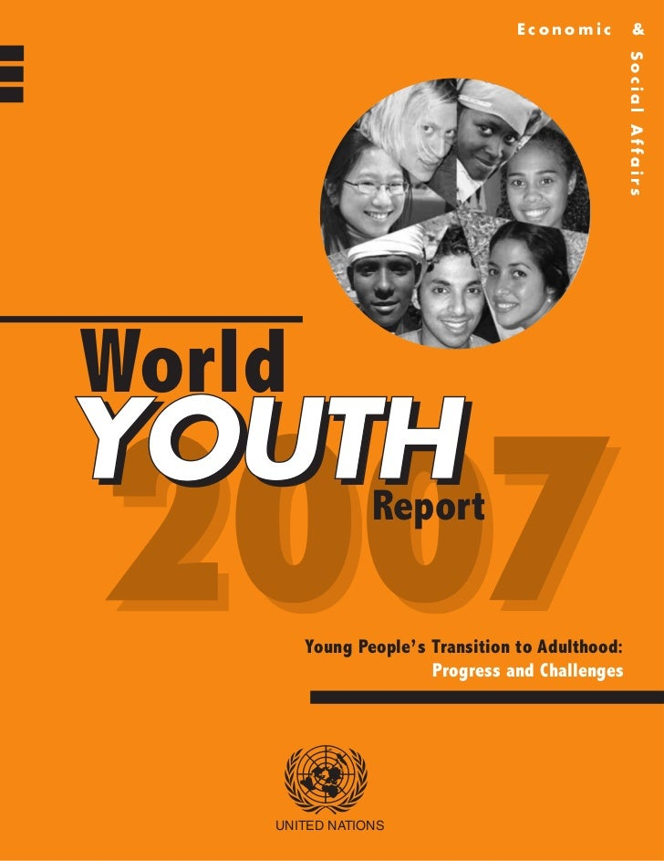 """World Youth Report 2007"" (UNDESA)"