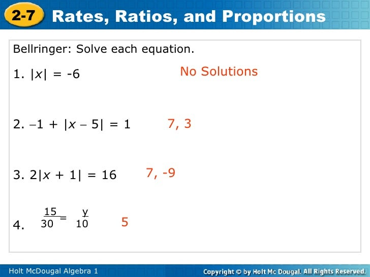 Algebra 1. 9.12 Lesson. Proportions