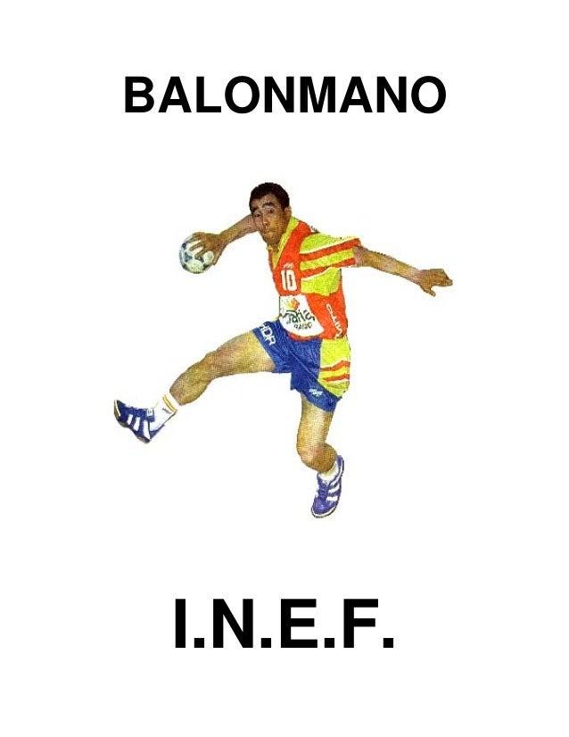 BALONMANO  I.N.E.F.