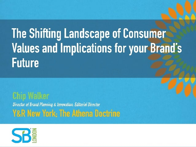 The Shifting Landscape of Consumer Values and Implications for your Brand's Future