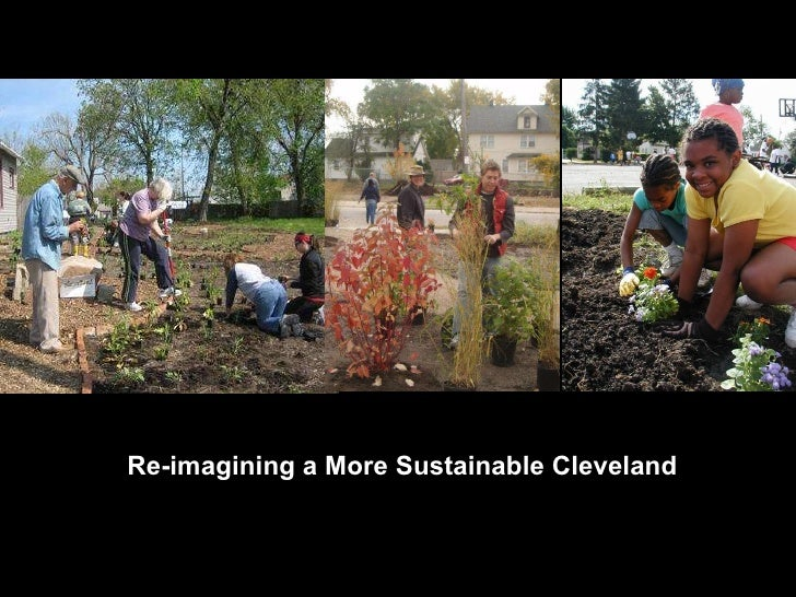 Re-imagining a More Sustainable Cleveland