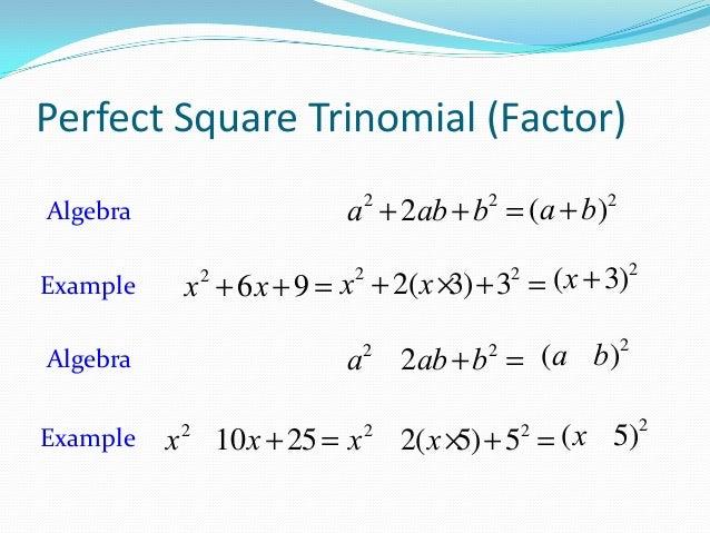 Worksheet Factoring Trinomials Delibertad – Perfect Square Trinomial Worksheet
