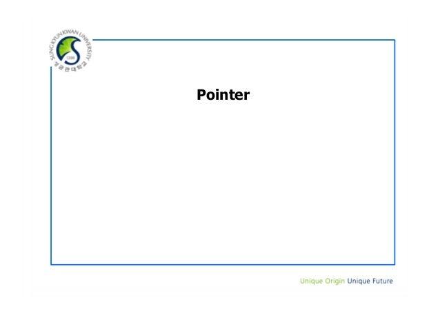 9. pointer