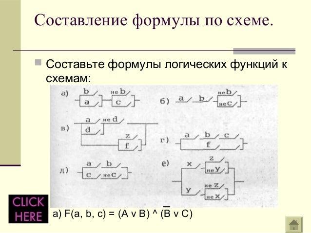 Составление формулы по схеме.
