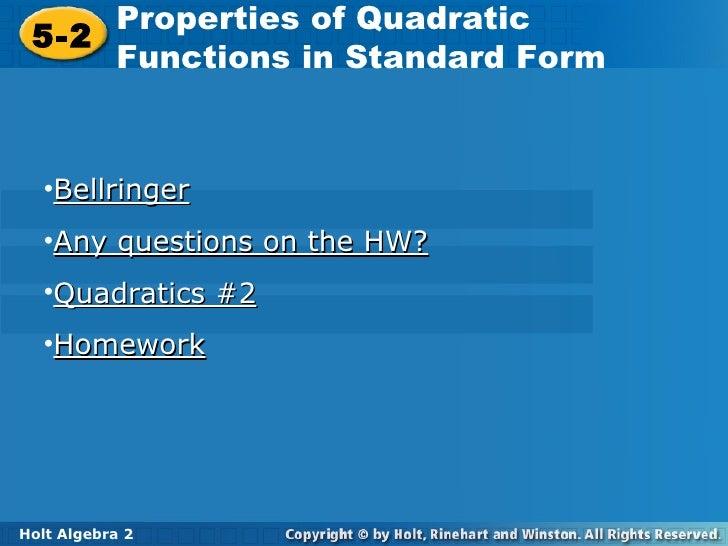 Homework help holt algebra 2 - melintas.me