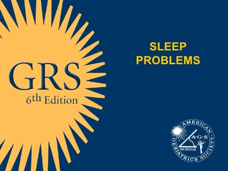 9 26 09,,,Sleeping Problems 52 Slides
