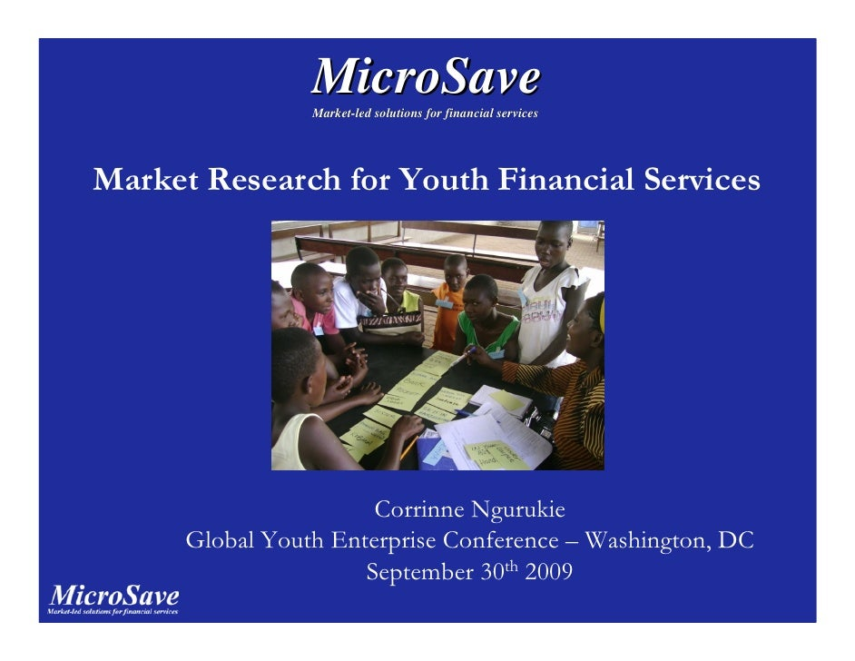MicroSave                  Market-led solutions for financial services                  Market-     Market Research for Yo...