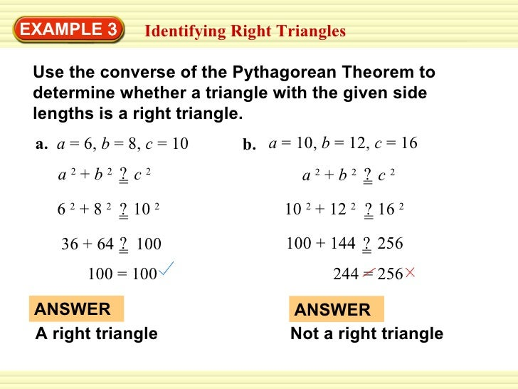 Geometry Day 34 Lessons Tes Teach – Converse of Pythagorean Theorem Worksheet