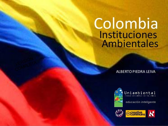Instituciones ALBERTO PIEDRA LEIVA Colombia Ambientales