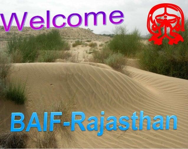 BAIF Rajasthan