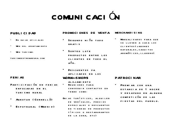 COMUNI CACI ÓNPUBL I CI D AD                              PROMOCI ONES D E VENTA                          MERCHAND I S I N...