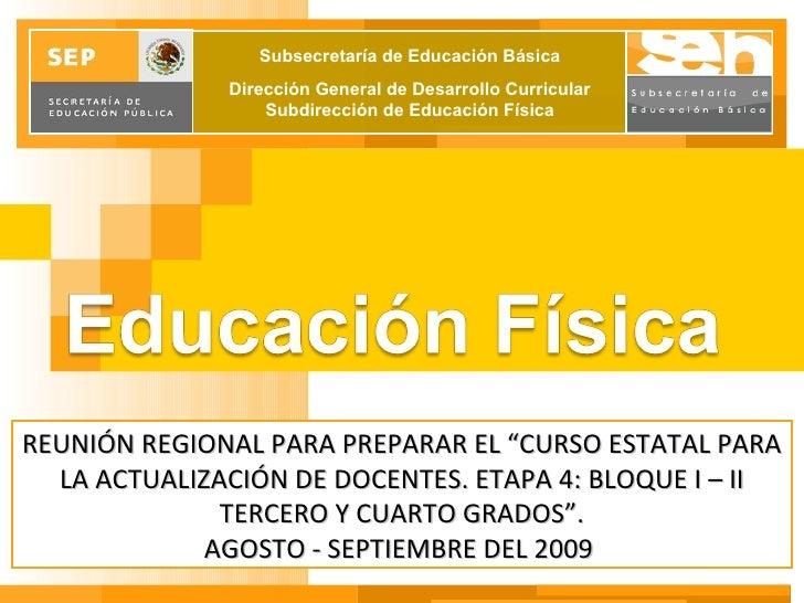 Sector 10 Estatal RIEB 2009