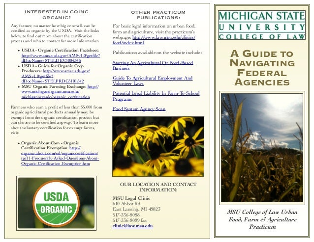 9   BFUG Conference - Guide to Federal Agencies Brochure