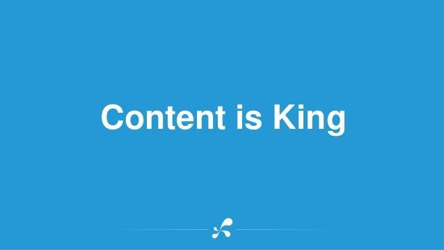 Content is King  @katemorris