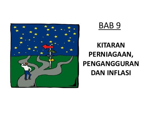 BAB 9   KITARAN PERNIAGAAN,PENGANGGURAN  DAN INFLASI