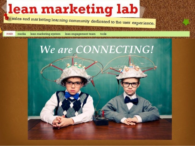 Develop your own Lean Marketing Lab