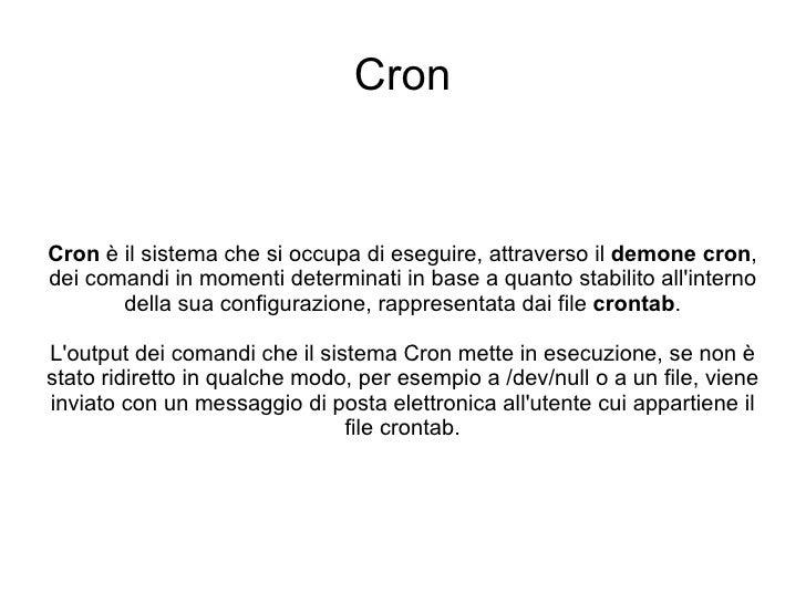 9 Linux Cron