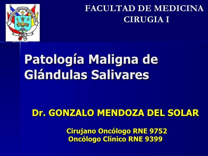9. patología de glándulas salivares