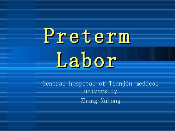 9.Preterm Labor