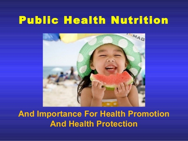 importance of health promotion pdf