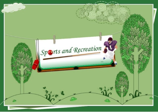 Sports and recreation website templates