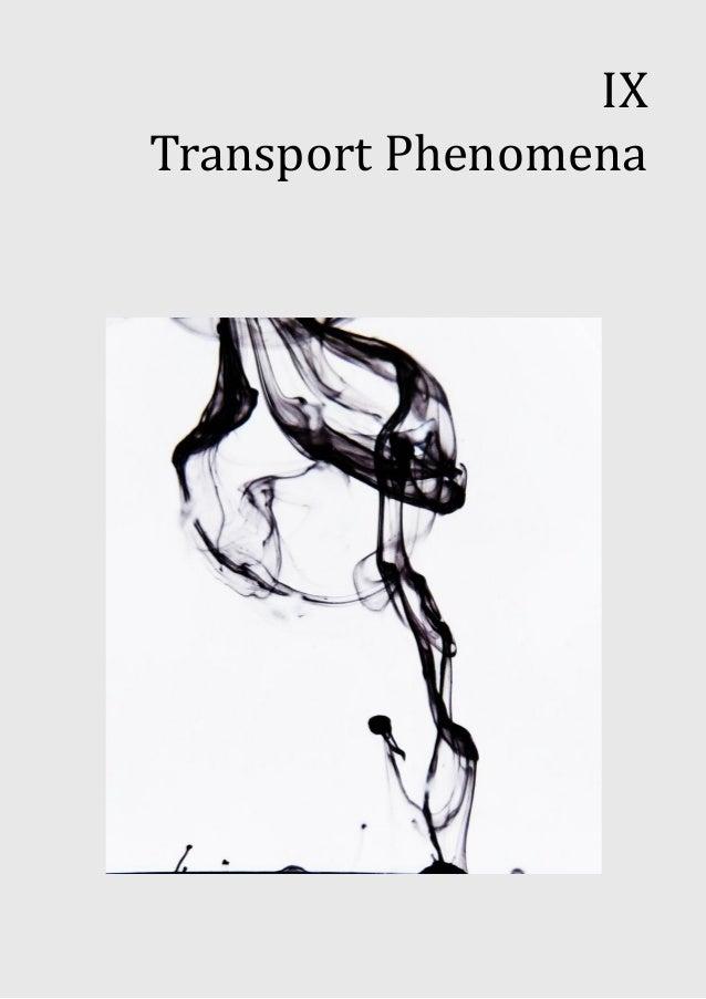 IXTransport Phenomena