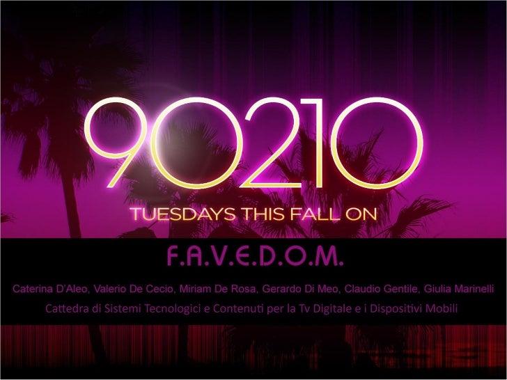90210: Transmedia declination