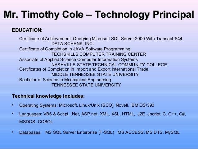 Resume spelling