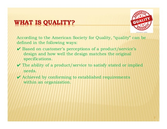why quality is important Quality over quantity - it s a simple concept taught to us throughout our formative years - but it s one that fits like a square peg in a round hole in.