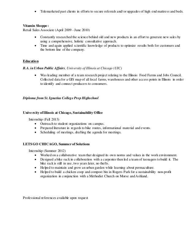 summer associate resumes